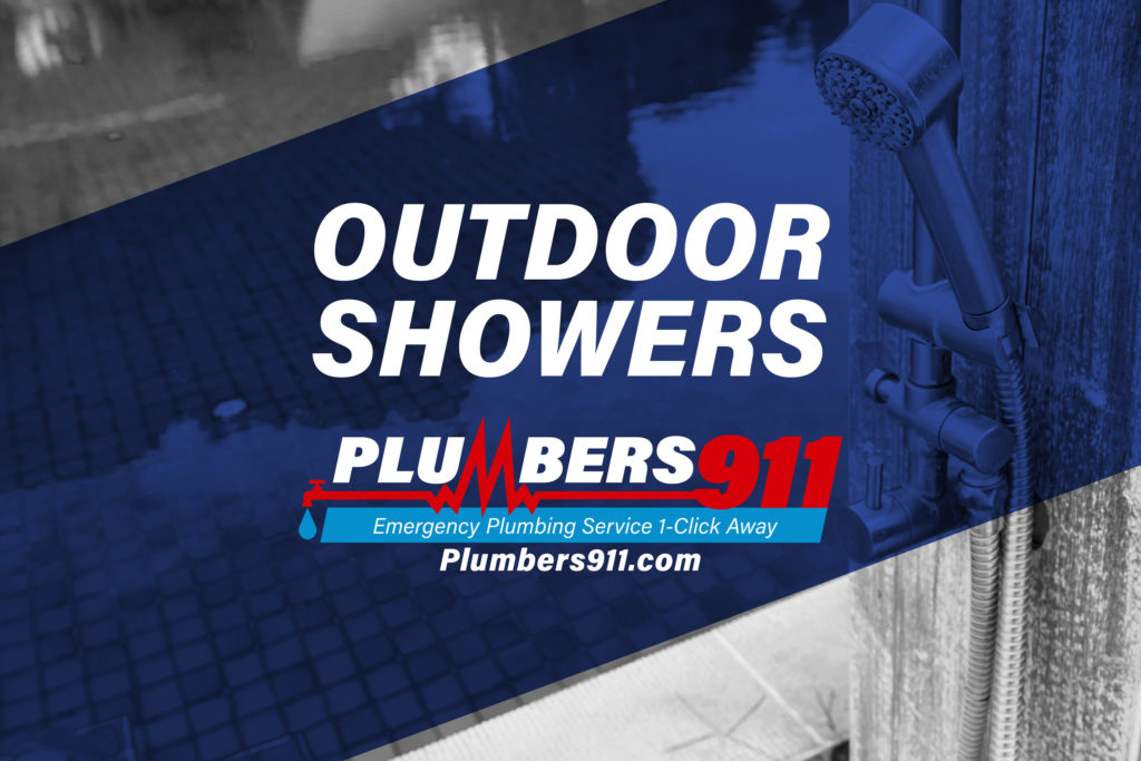 Plumbers 911 - Additional Plumbing Services - Outdoor Showers